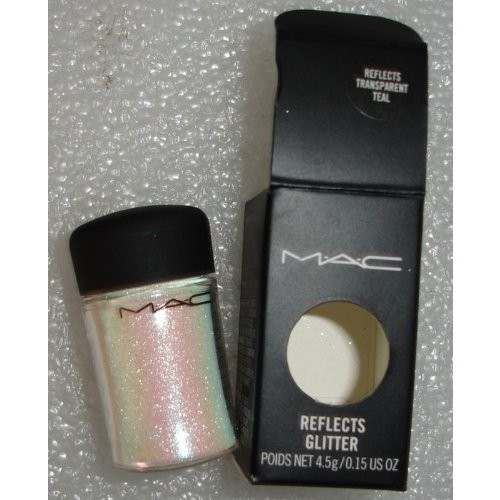 MAC Cosmetics MAC pro REFLECTS TRANSPARENT TEAL Glitter 4.5g/0.15 oz