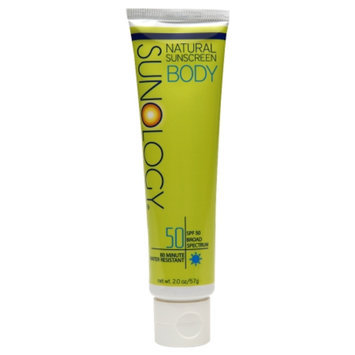 Sunology Natural Sunscreen Body Lotion SPF 50