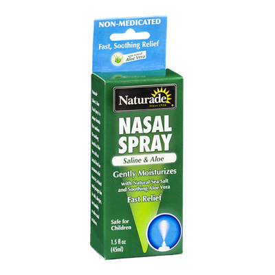 Naturade Nasal Spray Saline & Aloe