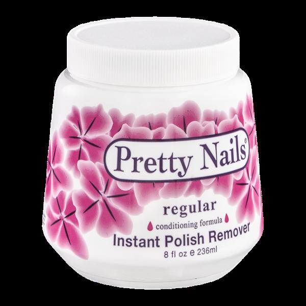Pretty Nails Instant Polish Remover Regular