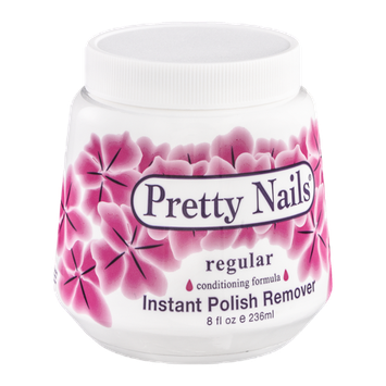 Pretty Nails Instant Polish Remover Regular