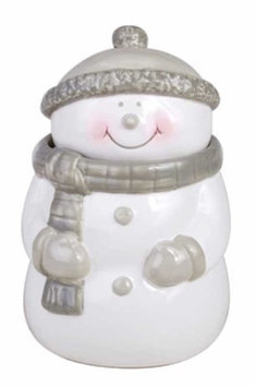 WoodWick Jolly Friends Ceramic Snowman Candle