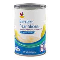 Ahold Bartlett Pear Slices with No Sugar Added