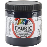 Speedball Fabric Screen Printing Ink 8 oz. jar denim
