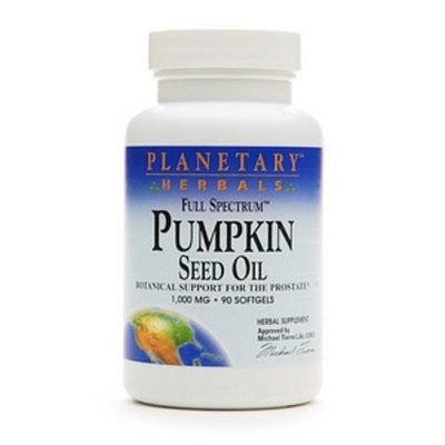 Planetary Herbals Full Spectrum Pumpkin Seed Oil 1000mg
