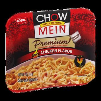 Nissin Chow Mein Premium Spicy Chicken Chow Mein Noodles