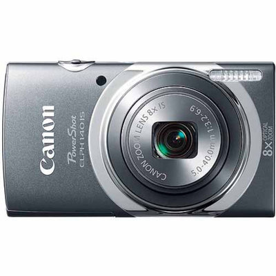 Canon PowerShot ELPH 140 IS 16MP Digital Camera with 8X Optical Zoom -