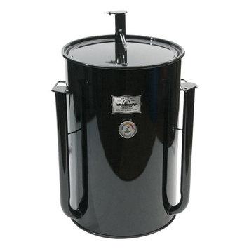 Adventure Marketing Group Inc Gateway 30 Gallon Drum Charcoal Smoker Red