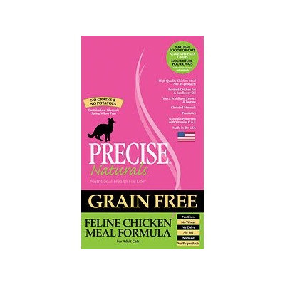 Precise Pet 726406 Precise Natural Cat Grain Free Chicken 5-3 Pack of 5
