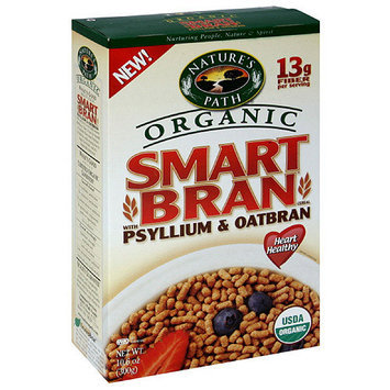 Nature's Path Smartbran Cereal With Psyllium & Oatbran, 10.6 oz (Pack of 6)