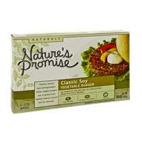 Nature's Promise Naturals Classic Soy Vegetable Burgers