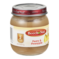 Beech Nut Stage 2 Pears & Pineapple