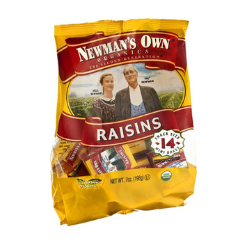 Newman's Own Organics The Second Generation Mini Boxes Raisins - 14 CT