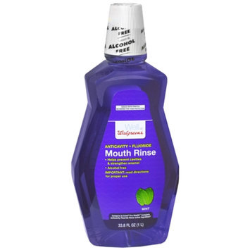 Walgreens Anticavity Fluoride Mouth Rinse