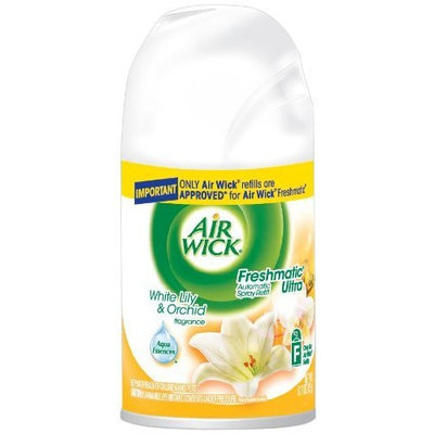 Air Wick Freshmatic Single Ultra Refill, White Lily and Orchid, 6.17 Ounce