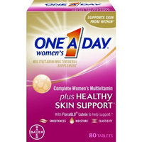 One A Day One-A-Day Women's Complete Mutlivitamin Plus Healthy Skin Support, 80-Count (EXPIRES 03/2015)
