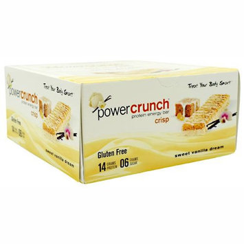 Bio-nutritional Power Crunch Crisp Bars - Sweet Vanilla Dream
