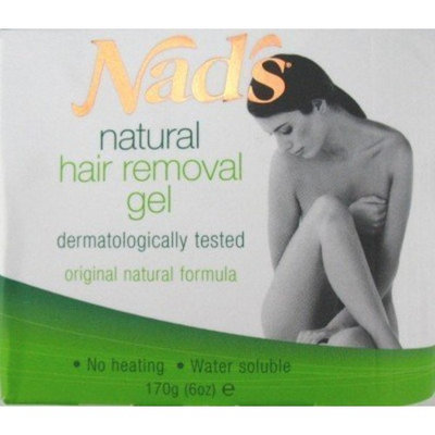 Nads Nad's Hair Removal Gel Kit 6 oz. Gel And Accessories