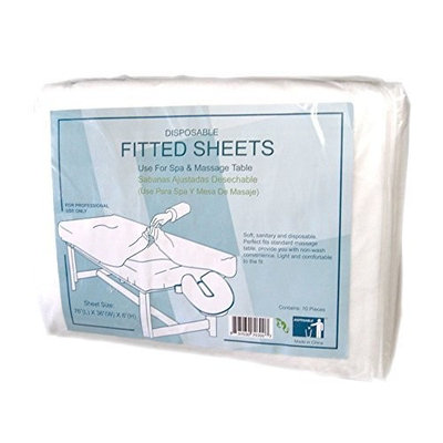 Appearus Disposable Massage Fitted Table Bed Sheets (100 count/BD1201x10)
