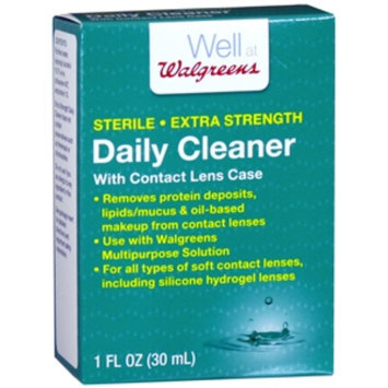 Walgreens Extra Strength Daily Contact Lens Cleaner, 1 oz