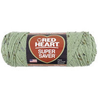 Coats Clark Red Heart E300.4361 Super Saver Economy Yarn, Frosty Green