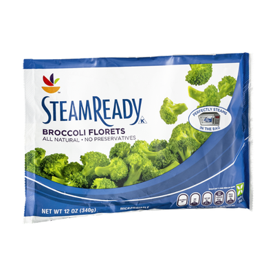 Ahold Steam Ready Broccoli Florets
