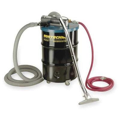 NORTECH Air-Powered Vac - 55-Gallon Capacity