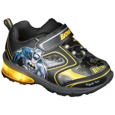 Toddler Boy's Batman Light Up Sneakers - Black 12