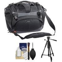 Vanguard Xcenior 36 Digital SLR Camera Case (Black) with Tripod + Cleaning Kit