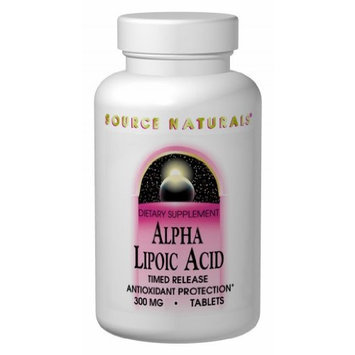 Source Naturals Alpha Lipoic Acid 600mg Time Release Tabs