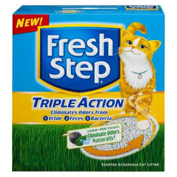 Fresh Step Triple Action Cat Litter 25 lb