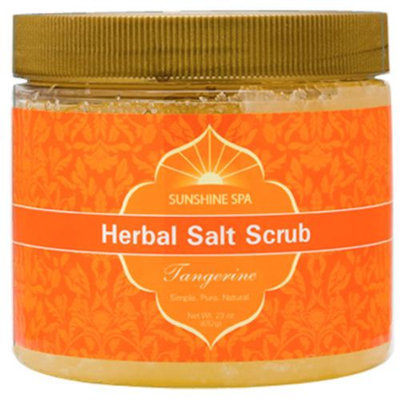 Sunshine Spa Herbal Salt Scrub