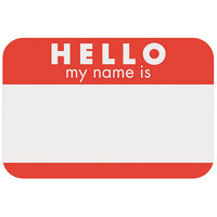 Self-Adhesive Name Tags 2-1/4