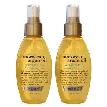 OGX Organix Moroccan Argan Oil Weightless Healing Oil 4 oz.