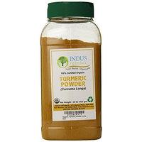 Indus Organics Indus Organic Turmeric (Curcumin) Powder Spice Pack 1 Lb, High Purity, Freshly Packed