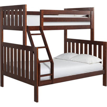 Canwood Furniture Lakecrest Twin Over Full Bunk Bed Finish: Cherry