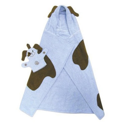 Trend Lab Character Hooded Towel and Wash Mitt