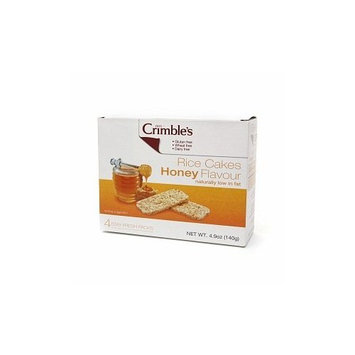 Mrs. Crimble's Mrs Crimble's Rice Cakes, Honey, 4.9 oz