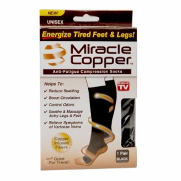 Miracle Copper Anti-Fatigue Compression Socks, Large/Extra Large, 1 ea