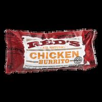 Red's All Natural Chicken Burrito