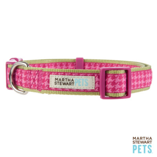 Martha Stewart PetsA Houndstooth Dog Collar