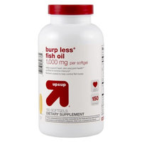up & up up&up Burp Less Fish Oil 1000 mg Softgels - 150 Count