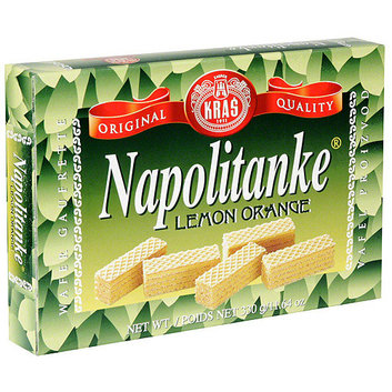 Napolitanke Lemon Orange Wafers