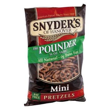Snyder's of Hanover All Natural Fat Free Mini Pretzels