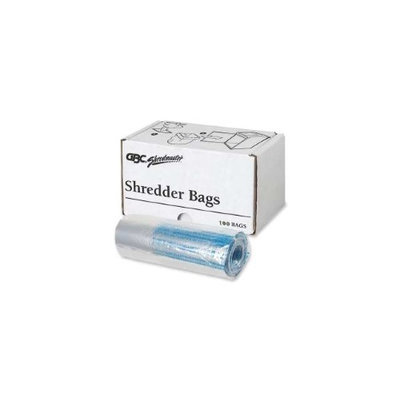 Swingline Personal Shredder Bags, 100/Roll, Clear - SWI1765016