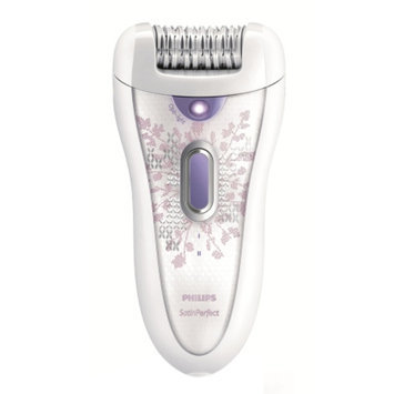 Philips HP6572/50 Satin Perfect Deluxe Epilator, White/Purple, 1 ea