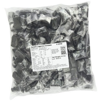 Gustaf's Dutch Licorice, Caramels, 4.4-Pound Bag