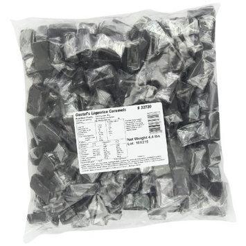 Gustaf's Dutch Licorice, Caramels, 4.4-Pound Bag