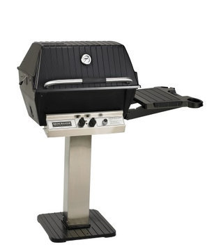Broilmaster P3 Grill Package 7 with Stainless Patio Post/Base