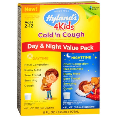 Hyland's Kids' Day & Night Cold & Cough Combo, 8 fl oz